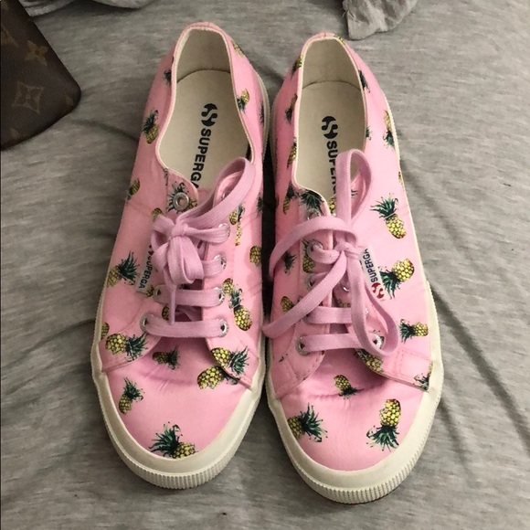 Superga Shoes   Pink Pineapple Sneakers